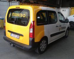 Nieuwe belettering Furnibo